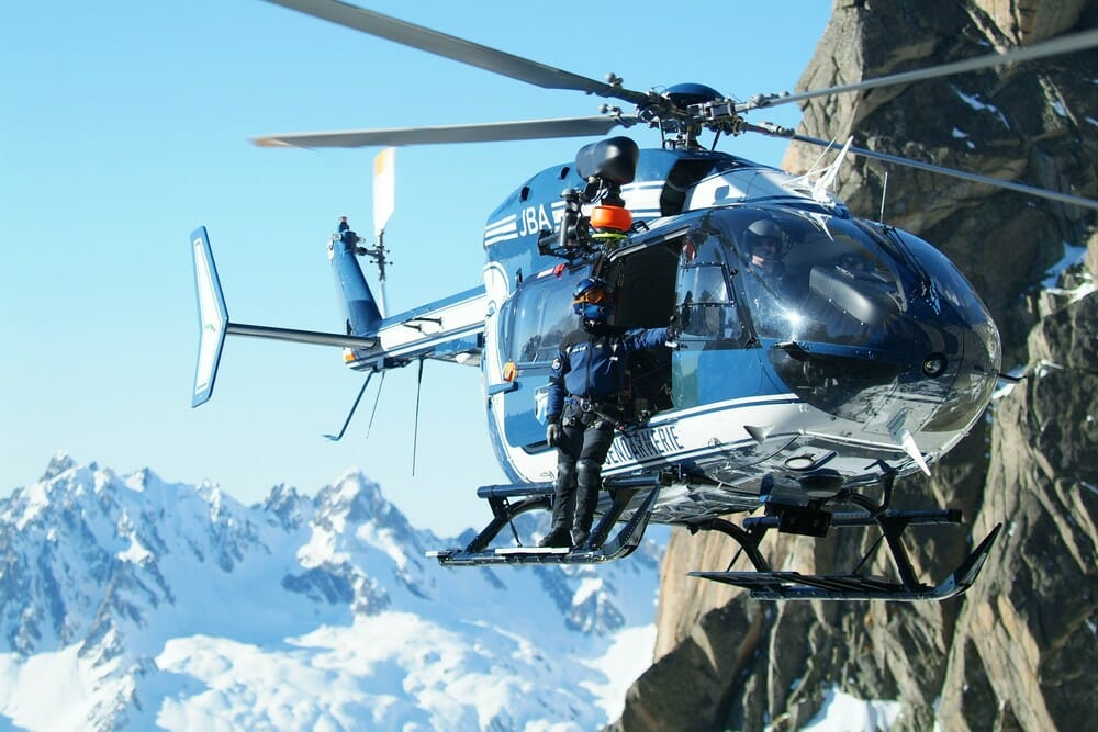 We'll visit with Chamonix's mountain rescue service, the PGHM (Courtesy photo: PGHM).